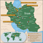 iran Map Maps