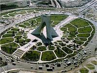 tehran azadi square